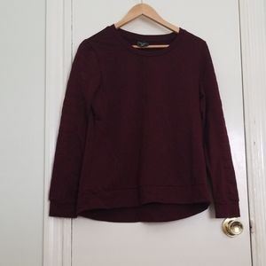 32⁰Heat burgundy sweatshirt